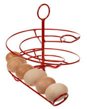 Egg Skelter 24 - Red for Small to Medium Eggs