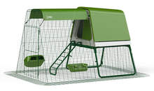Eglu Go UP Chicken Coop with 2m Run - Leaf Green
