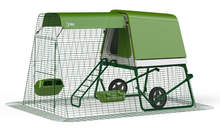 Eglu Go UP Chicken Coop with 2m Run and Wheels - Leaf Green