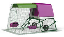 Eglu Go UP Chicken Coop with 2m Run and Wheels - Purple
