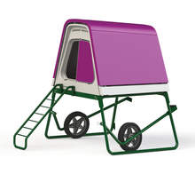 Eglu Go UP Chicken Coop with Wheels - Purple