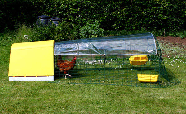 Clear Cover For The Eglu Go Chicken Coop