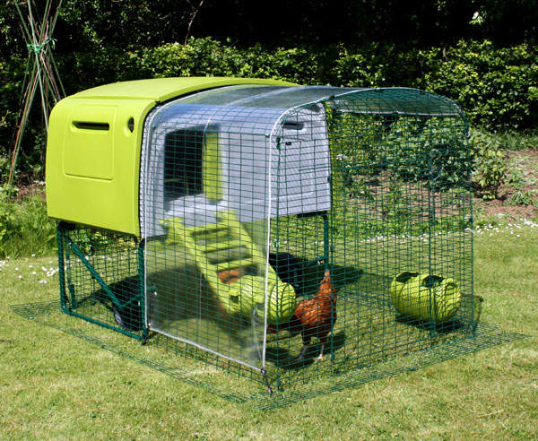 The Cover Protects Your Chicken While Giving Them A Clear View