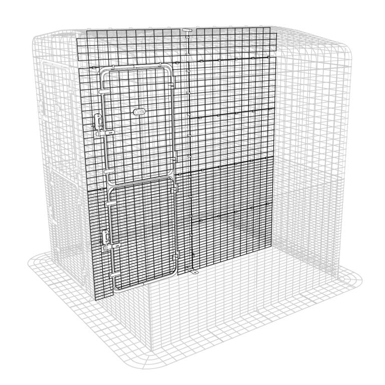 Catio Outdoor Cat Enclosure Partition High - 2 Panels