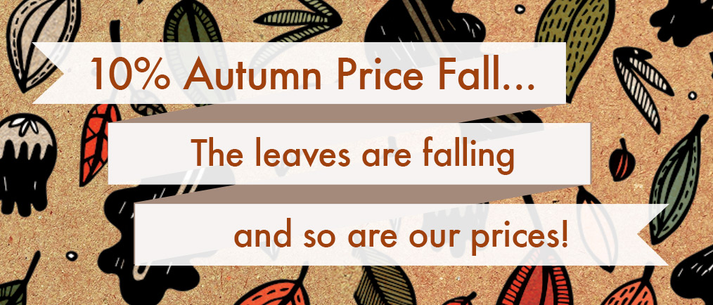 10% Autumn Price Fall