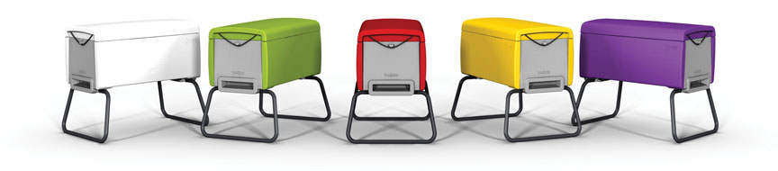 A range of different colours to choose from to suit your style, garden or rooftop
