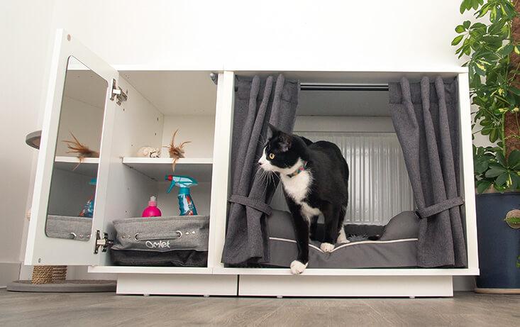 Luxury Indoor Cat House Maya Nook